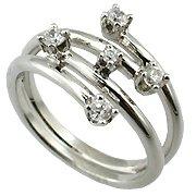 14K White Gold 1/4cttw Diamond Ring - You Save $827.66