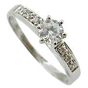 14K White Gold Diamond Multi Stone Ring - You Save $1,179.14