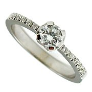 18K White Gold Diamond Multi Stone Ring - You Save $1,492.99