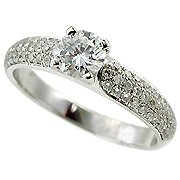 18K White Gold Diamond Multi Stone Ring - You Save $4,335.41