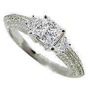 18K White Gold Diamond Multi Stone Ring - You Save $5,865.20