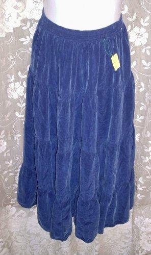 City Blues by KORET Womens Lovely Rayon Boho Skirt Size Medium EUC