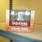 8oz Square Coffee Mug 8ct