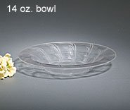 Elegance Boxed Clear Tableware, 14 oz soup bowl,16ct