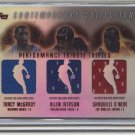 03-04 topps contemporary collection shak, iverson, mcgrady