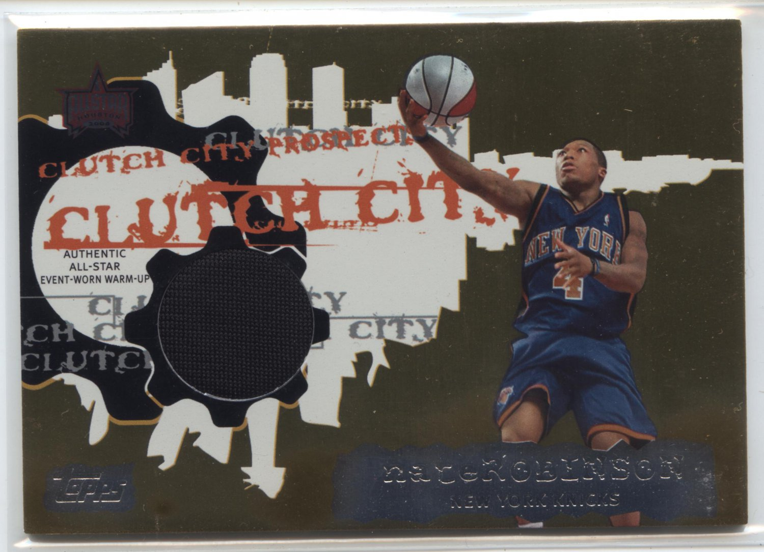 05-06 clutch city nate robinson #41 of 99