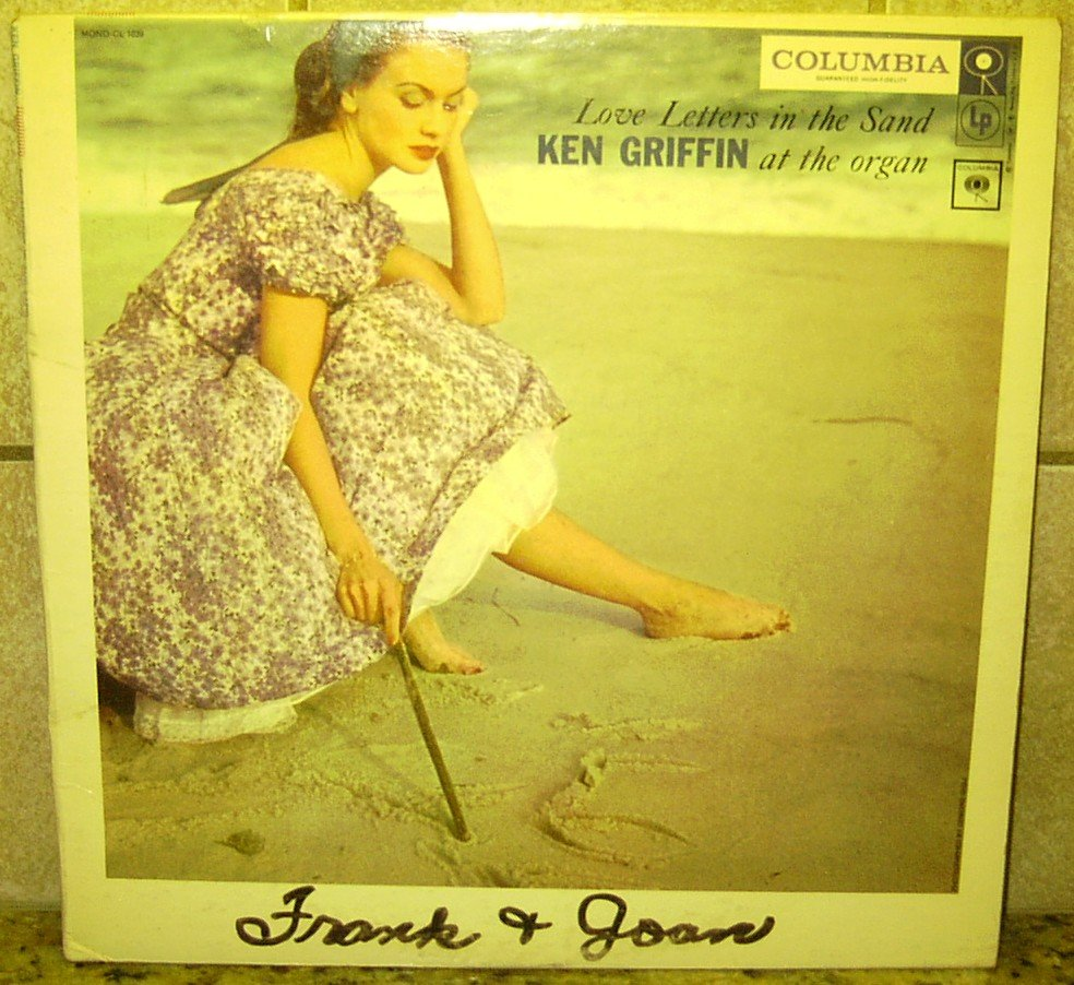 Love Letters in the Sand KEN GRIFFIN Columbia MONO LP Record Vinal ALBUM CL-1039