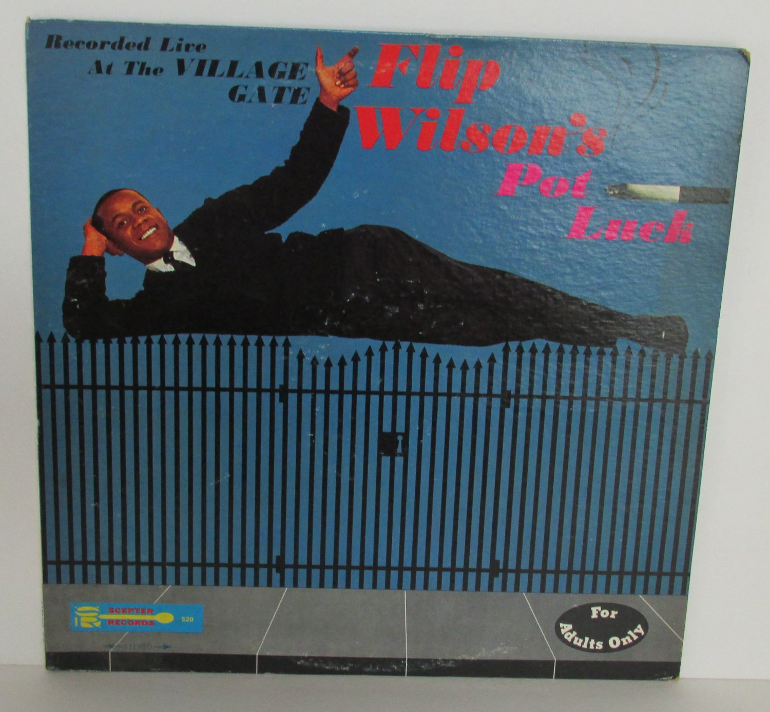 Pot Luck FLIP WILSON Scepter Records LP Record Vinal ALBUM Scepter 520