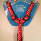 DOG HARNESS Paws N Claws Red Small NEW