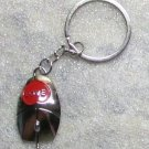 Love Computer MOUSE Metal KEY CHAIN Ring Keychain NEW