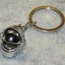 Motorcycle BIKE Bicycle Helmet with Visor Metal KEY CHAIN Ring Keychain NEW
