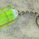 Acrylic Green LEVEL Mini KEY CHAIN Ring Keychain NEW