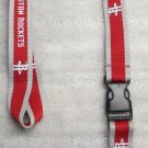 NBA Houston Rockets Breakaway Disconnect LANYARD KEY CHAIN Ring Keychain ID NEW