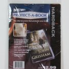 Lot of 156 PROTECT A BOOK Hardback Book Covers with FREE Hanger Strip NEW