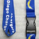NFL San Diego Chargers Breakaway Disconnect Football LANYARD ID Key Holder NEW