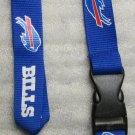 NFL Buffalo Bills Breakaway Disconnect Football LANYARD ID Key Holder NEW
