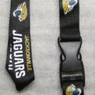 NFL Jacksonville Jaguars Breakaway Disconnect Football LANYARD ID Key Holder NEW