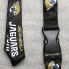 NFL Jacksonville Jaguars Breakaway Disconnect Football LANYARD ID Key Holder NEW