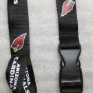 NFL Arizona Cardinals Breakaway Disconnect Football LANYARD ID Key Holder NEW