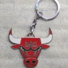 NBA Chicago Bulls Metal Basketball High Quality KEY CHAIN Ring Keychain NEW