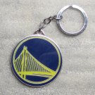 NBA Golden State Warriors Metal Basketball Quality KEY CHAIN Ring Keychain NEW