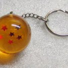 1 Inch DragonBall Z 6 Six Star Crystal Acrylic KEY CHAIN Ring Keychain NEW