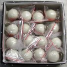 1.25 Inch Box 16 Mini CUE Que POOL BALLs Billiard Key Chain Ring Keychains NEW