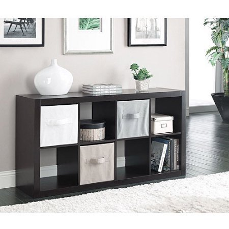 RECORD CABINET Better Homes and Gardens 8-Cube Organizer NEW