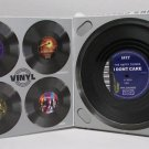 4 PC Vintage Vinyl Vinyl Record COASTERS Cup Pad Coffee Table Mats Bar NEW