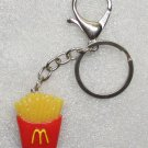 McDonalds FRENCH FRIES Golden Arches KEY CHAIN Ring Keychain NEW