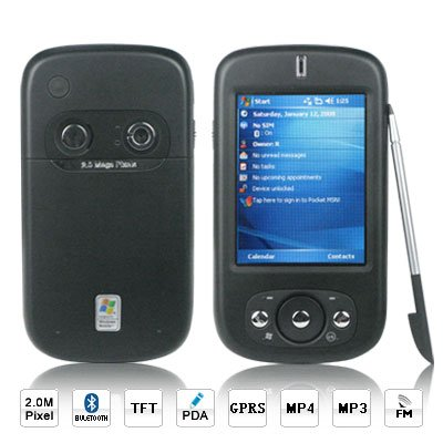 TC600 Triband Windows Mobile 5.0 PDA Cell Phone With Bluetooth (3 Months Warranty)