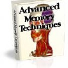 Advanced Memory Techniques eBook