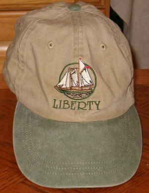 Tan And Green Liberty Clipper Hat