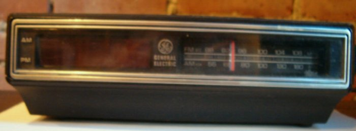 Digital Am Fm Clock Radio