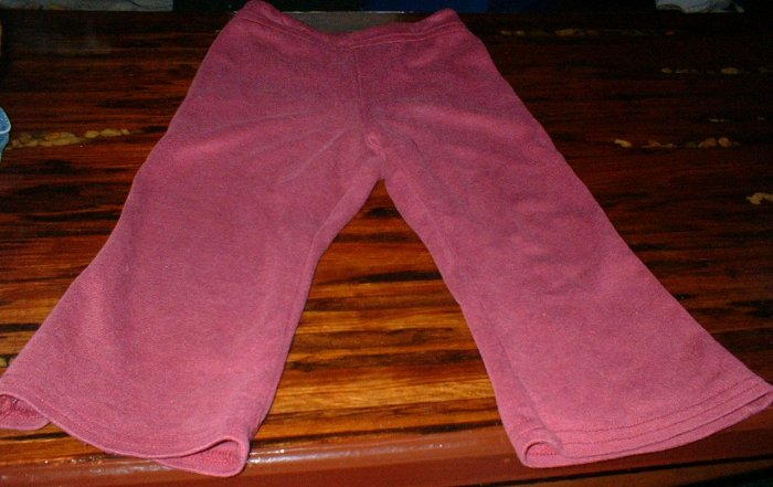 Sprockets Maroon Flare leg Pants with back pocket