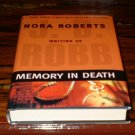 Memory In Death by J.D. RobbHardback Nora Roberts HB