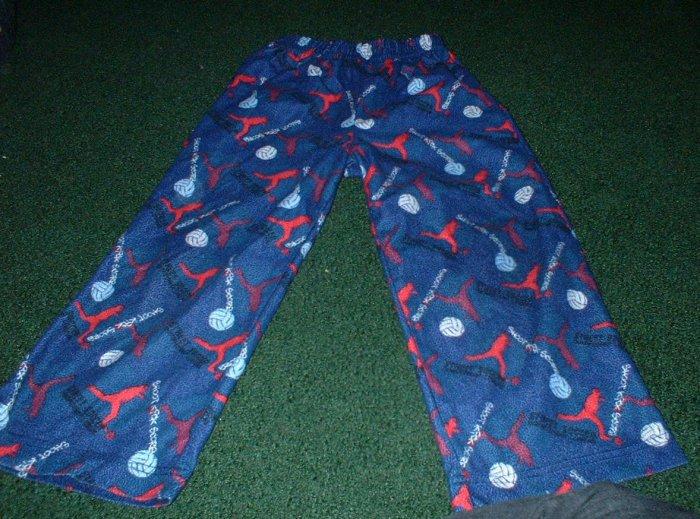 Soccer Print Flannel Pajama Pants size 4 5