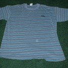 Mens NWOT Size Large Blue Stripes Quicksilver Shirt
