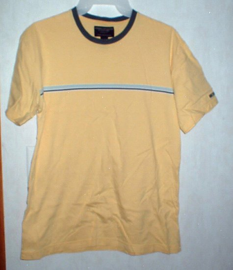 Guys American Eagle Yellow and Blue Shirt XS