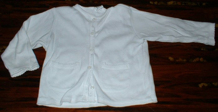 Girls Gap 12-18Mth White Sweater