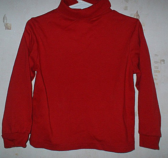 Boys 4T Okiedokie Red Turtleneck