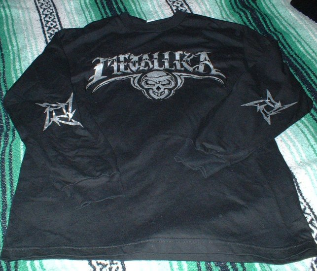 Brand New Metallica Long Sleeve Concert Shirt Size Large