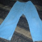 Girls 4T Blue Corduroy Studded Jeans