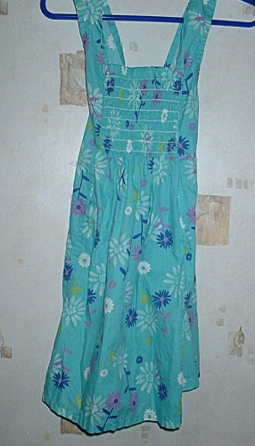Girls 3T Blue Summer Halter Dress