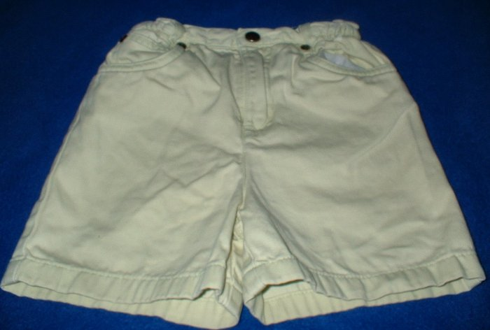 Girls Lime Green 5 Pocket Denim Shorts 4T