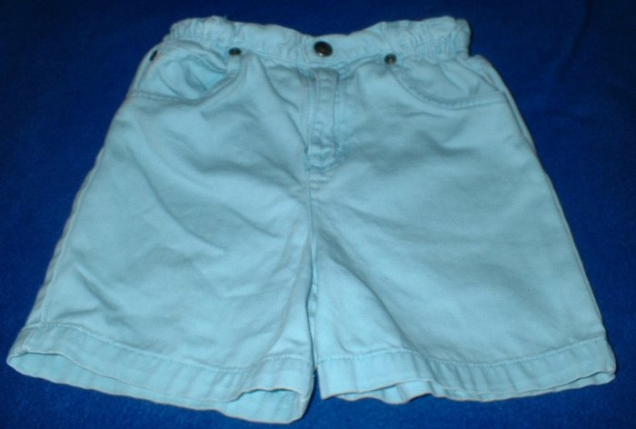 Girls Light Blue 5 Pocket Denim Shorts 4T