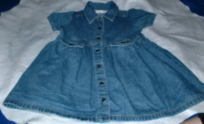 Girls Denim Dress Size 4