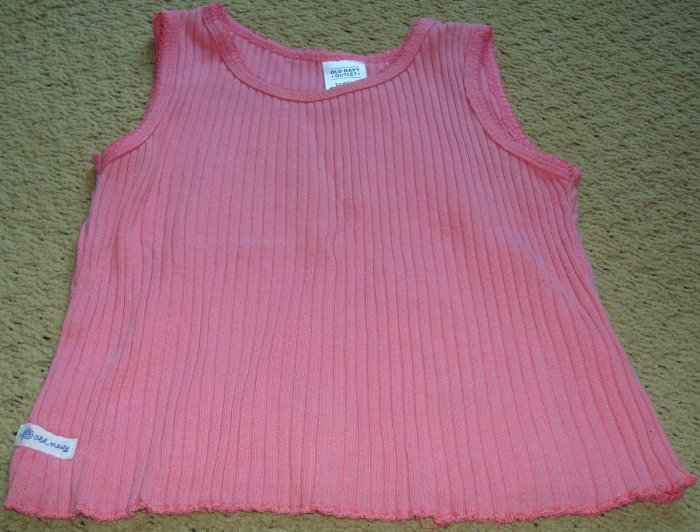 Girls 2T Pink Ribbed Tanktop by Old Navy