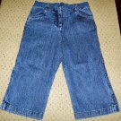 Girls NWOT Denim Capris 4T