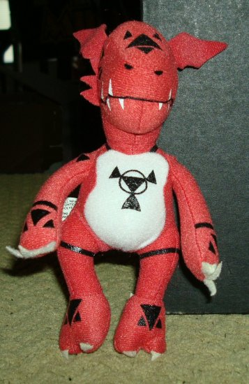 Digimon Guilmon Collectors Figure
